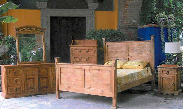 Rustic Heritage Furniture Mexican And Texas Style Home Furniture Bedroom Sets