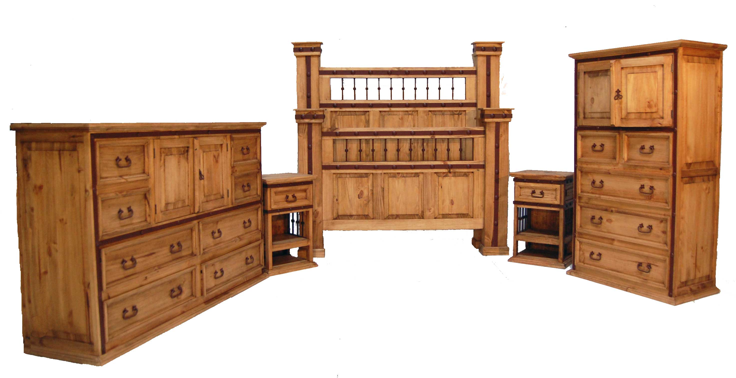 hierro iron bedroom set