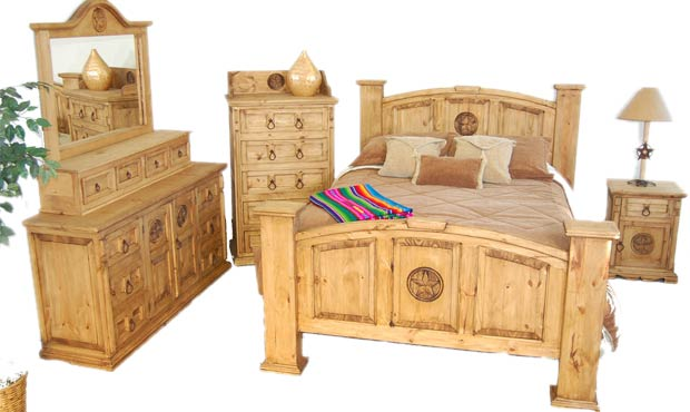 Rustic Heritage Furniture Mexican And Wstern Style Home Furniture Bedroom Sets